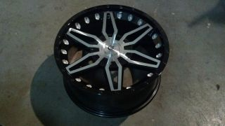 "20"" Granite Alloy GA14 Vrock Axial Black Machined Wheel 20x9 5x150 GA14291530BMF"