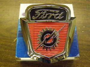 1953 1954 1955 1956 Ford Truck Pickup Hood Emblem