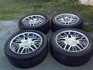"""22"""" Rims Tires Wheels Chevy 6x5 5 6x139 Ford 6x135 6 Lug"""