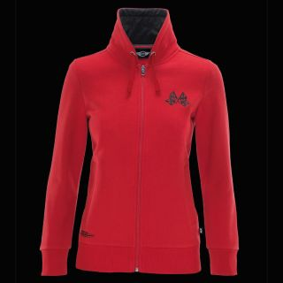 Mini Cooper Women's Ladie's Red JCW Racing Academy Sweater sweat Shirt New