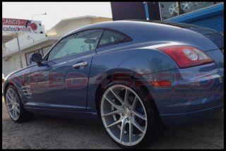 """20"""" Niche Targa Silver Fits Audi TT Coupe 20x8 5 Concave Wheels Rims"""