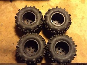 OFNA Tmaxx Losi Savage Monster Truck Truggy Tires and Rims