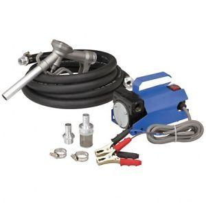 New 12 Volt 10 GPM Auto Diesel Gas Fuel Transfer Pump