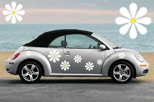 30 Large Daisy Flower Car Graphics Decals Stickers