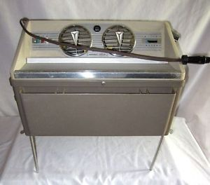 Vintage Bon Aire Car Swamp Air Cooler Ice Box Fan Cooling System Model GB12