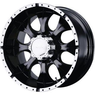 18x9 Black Helo HE791 8x6 5 12 Rims Toyo Open Country MT 33x12 5x18 Tires