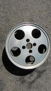 "Enkei Wheel Rim EK24 Vintage 15"" Single 15x6 35 EK 24 Phone Dial 4x100 VW BMW"