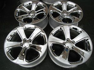 "18"" Dodge Charger Factory Chrome Wheels Magnum 300C Challenger 17 18 19 20"