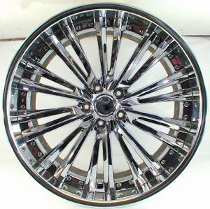 Weds Kranze Magiss Hyper Chrome 21x9 5J 5x114 Wheel Wheels