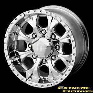 20 x10 Helo HE791 Maxx Chrome 8 Lugs Wheels Rims Free Lugs
