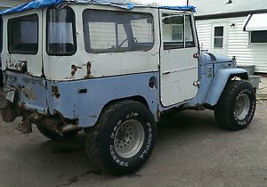 1970 Toyota Land Cruiser Project Engine and Trans Runs Great