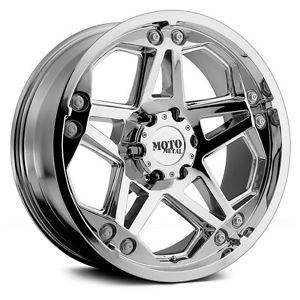 20 inch Chrome Wheels Rims Chevy 2500 3500 Dodge Ford Truck F250 F350 8x6 5 Lug