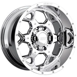 20x10 Chrome BMF Sota 8x6 5 19 Wheels Nitto Trail Grappler LT295 60R20