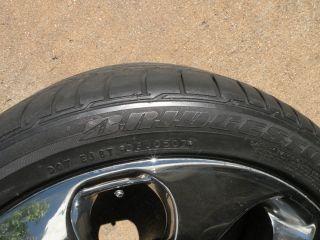 """19"""" BMW Factory 6 Series Chrome Wheels 645 650 M6 E63 E64 Tires E38 740 745"""