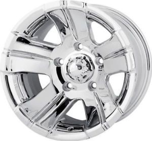 "15"" x 10"" ion Alloy Wheels Dodge Dakota Durango RAM Chrome Rims"