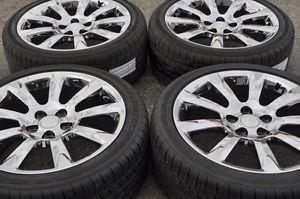 """Buick Lacrosse Regal 19"""" Chrome Wheels Rims Tires Factory Wheels 4097"""