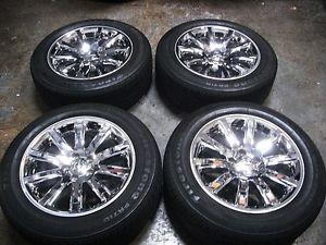 Chrysler 300C Chrome Factory Alloy 18 inch Wheels Tires Rims 300 C Mopar