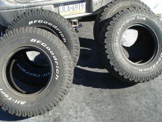 Used BFG BFGoodrich All Terrain T A Tires 31 x 10 50 x 15 Set of 4