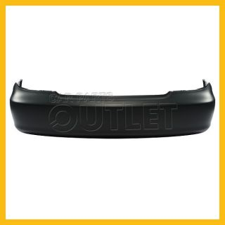 02 05 06 Toyota Camry Rear Bumper Cover Jap Built Le XLE SE Primed Black Plastic