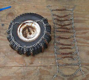 Garden Tractor Tire Chains