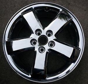 """17"""" Pontiac G6 Rim Factory Chrome Clad Wheel"""