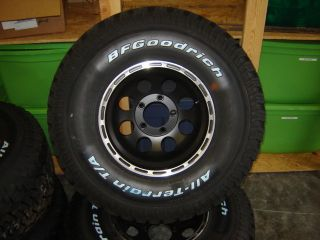 BF Goodrich 33 12 50 15 All Terrains on 15x10 Eagle Alloys