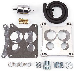 Edelbrock 2697 Carburetor Adapter Fuel Line Kit