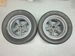 RARE 1960's American Racing Magnesium Torque Thrust D 15x10 Wheel Rim Vintage