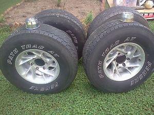 "American Racing Nitro Chrome Wheels Rims 15"" Toyota Tacoma Penske"