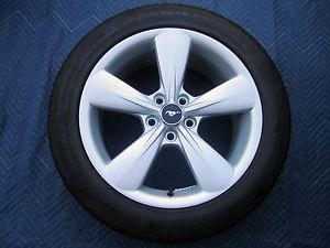 "Set 4 2013 Mustang GT 18"" Stock Factory Wheels Rims Tires Pirelli 235 50 18"