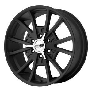 "4 New 20"" 6 135 American Racing El Rey Black Wheels Rims Ford F 150 Truck"