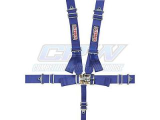 G Force Blue Pro Series 5 Point Shoulder Harness Racing Seat Belts SFI 16 1