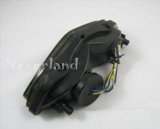 Suzuki DL 650 1000 V Strom LED Tail Light Signals 03 08 Smoke New 2003 2008