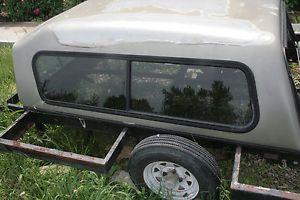 Late Model Chevy Chevrolet S10 GMC Sonoma Raised Truck Cap w Front Slider
