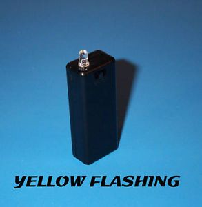 Fake Car Alarm LED Light Yellow Blinking AAA Battery