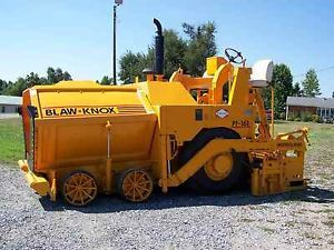 Blaw Knox PF161 Parts Manual Volvo Paver Asphalt Paver Parts Manual