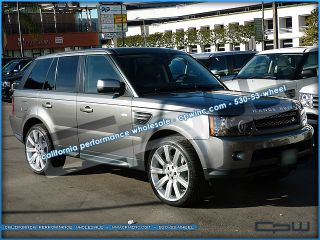 "22"" inch Silver Stormer II Wheels Rims Fits Range Rover Land Rover LR4 LR3"