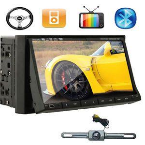 "Factory Direct 2Din 7"" Car DVD Player Radio iPod Bluetooth Car Backup Camera"