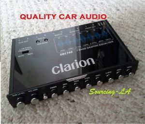 Clarion EQS746 7 Band Car Audio Graphic Equalizer System