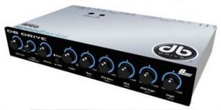 DB Drive Speq 5 Band Pre Amp Equalizer Crossover Audio