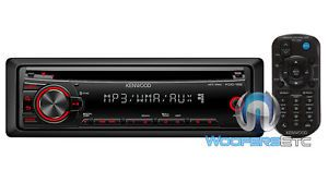 Kenwood KDC 152 Car CD  WMA Stereo 200W Receiver Aux Equalizer Remote New 019048195494