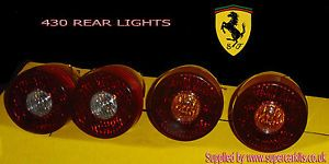 Ferrari F430 Replacement Rear Lights Brand New Ideal for Replica 430 Kit Car