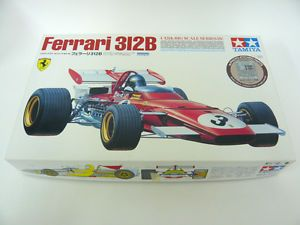 Tamiya 1 12 Big Scale Series Ferrari 312B Model Kit with Photo Etched Parts P10