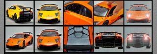 Lamborghini Murcielago LP670 4 SV RH2015 RC Radio Remote Control Car 1 14 Yellow