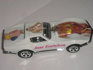 Hot Wheels Anna Kournikova Oops 1969 Chevy Corvette Custom