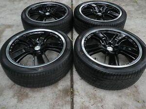 Camaro SS 21' Black Wheels Rims Tires SS92229349