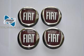 4X New Original Wheel Hub Center Cap Fiat Bravo Linea Multipla Grande Punto 5 Cm