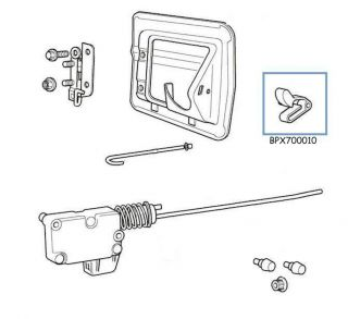 Land Rover Range Rover SE HSE P38 Fuel Door Clip Latch Genuine LR Part