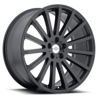 22 inch Redbourne Dominus Matte Black Wheels Rims 5x120 Land Rover Range Rover