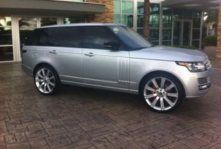 """2013 Range Rover 24"""" Wheels Rims Brand New Compare to 22"""" Fits 2003 2014 Sport"""